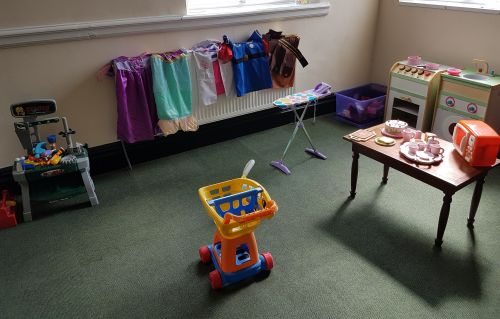 The role play area is a classic favourite