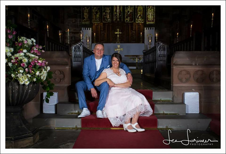 Helen and Stuart - married in July