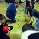 Making the longest paper chain
