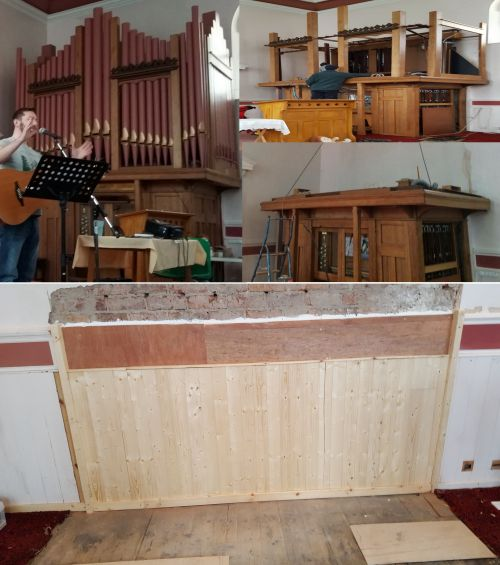 The organ space is transformed