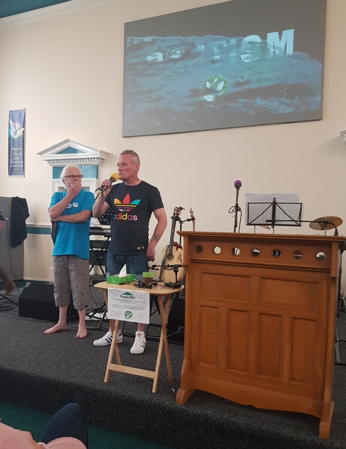 Phil and Ronnie give their testimonies